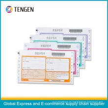Express usado Waybill de entrega para o rastreamento de mercadorias