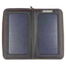 Design de mode Chargeur portable portable de panneau solaire 13W