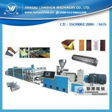 Linha de produção de perfil de PVC