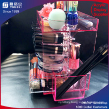 Yagelic display & Acrylic Lipstick with Brush Holder