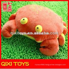 Soft plush crab pillow plush animal shaped pillow