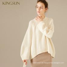 Frau 100% Merinowolle Winter Pullover Damen Strickwaren