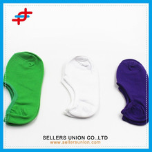 Baumwolle gestrickte kundenspezifische Frauen No Show Socken / Fuß Socken
