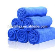 China fabricación absorbente seco seco microfibra toalla lavado de coche de limpieza