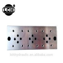 sistema do bloco do colector do fornecedor da porcelana do alibaba para o bloco de válvula hidráulica do caminhão da vassoura