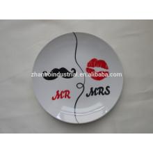 Keramik Valentinstag Geschenkplatte