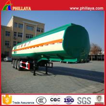 Remorque de réservoir de transport de réservoir de carburant (25-60M3 facultatif)