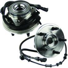 Rolamento e maquinista 515050 ABS da roda dianteira cubo definido - esquerda e direita - par de 2