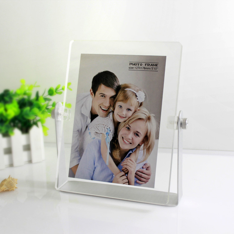 Cheap White Acrylic Sheet Photo Frame Of Screws