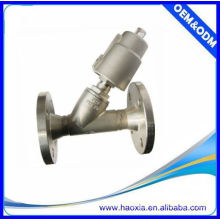 double acting normally open flange angle seat valves JZF-15F