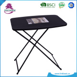 cheap portable wooden rectangle shaped desk table with folding leg FT-608R