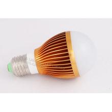 Custom E27 3 * 1w Ac85 - 265v 8000k Yellow Brightest Led Bulb For Bars Oem , Odm