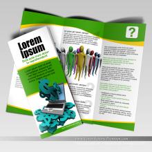 Folheto de Design personalizado e impressão de folhetos