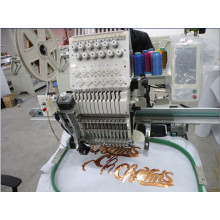 Computer Embroidery Machine Sequin Single Head 12 Colors Computerized Embroiedry Machine