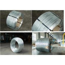 Venda Direta de Fábrica de Arame Galvanizado / Fio de Ligação Gi / Hot DIP Electro Galvanized Iron Wire