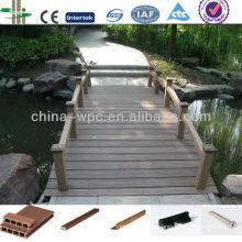 WPC Deck für Brücke