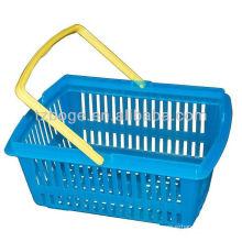 molde de inyección de plástico de la cesta de compras