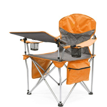Outdoor Folding Wine Chair with Adjustable Table