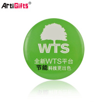 En gros Promotion Pas Cher logo Personnalisé en métal bouton insigne de sécurité