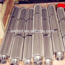 Customized Stainless Steel Wire Mesh Sintered Filter Element Standard Connector Melt Filter Element