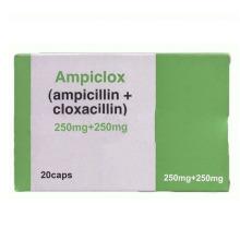 Cápsula Ampiclox para Infección intestinal