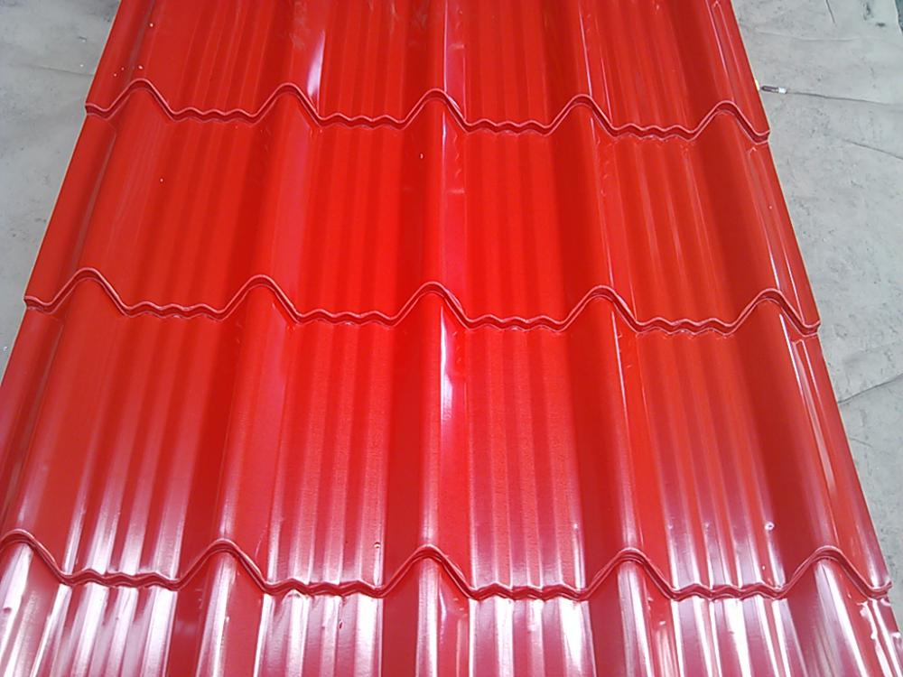 Color Coated Steel Roofing Tile