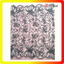 Good Quality for Embroidered Tulle Fabric French Embroidery COTTON Net Lace Fabric 2018 supply to South Korea Exporter