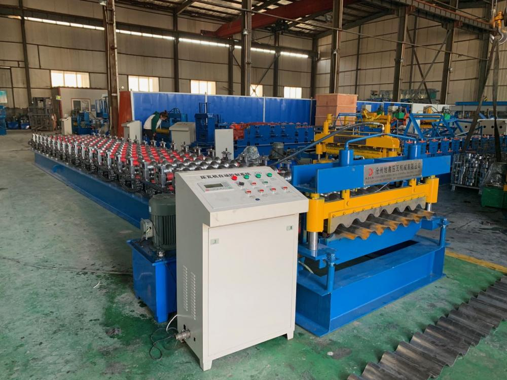 Corrugated Metal Roof Making Machine