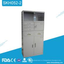 SKH052-2 на заказ металлические медицинские шкафы со стеклянной дверью