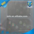Clear Custom hologram seal sticker / Transparent hologram id seal sticker