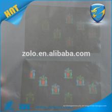 Clear Custom Hologramm Dichtung Aufkleber / Transparente Hologramm ID Dichtung Aufkleber