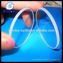 Polished sapphire windows circular
