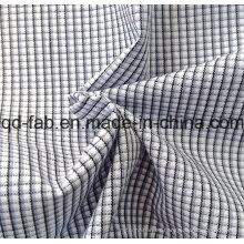 100% Hilado de algodón Tejido Tejido Tejido (QF13-0397)