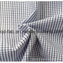 100%Cotton Yarn Dyed Shirting Fabric (QF13-0397)
