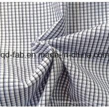 100%Cotton Yarn Dyed Shirting Fabric (QF13-0397)