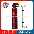 Car fire extinguisher mount/all types of fire extinguisher/car mini fire extinguisher