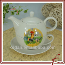 Wholesale Porcelain Ceramic Tea Pot And Cup
