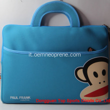 Borse per laptop in neoprene impermeabile Paul Frank Blue