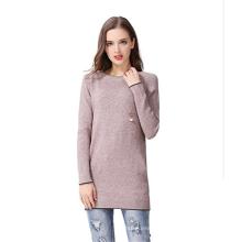 PK18A73HX Pullover Frauen Kleid Rundhals Cashmere Sweater