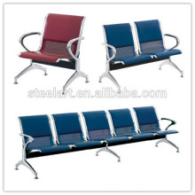 Stainless Steel public airport 4 seater waiting chair