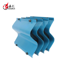 S type cooling tower pvc water drift eliminator