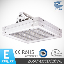 120W E-Series High Lumen with CE/RoHS Certificated LED Gas Station Canopy Light