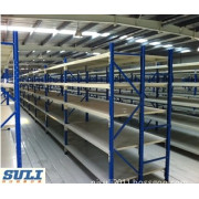 Multifunctional Light Duty Shelving with Slotted Angle