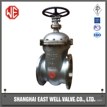 Steam gate valve hard sealing