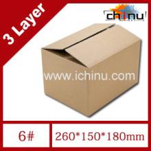 Caja de cartón ondulado de tres capas de papel / Caja de embalaje / Caja de papel de embalaje (1286)