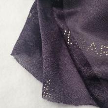 Comercio al por mayor de tejido de punto de impresión de caucho de poliéster abrigo de tela