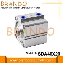 Airtac Type SDA 40X20 Pneumatic Compact Air Cylinder