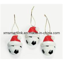 Poly piedra bola de Navidad colgando decoración, decoración de recuerdos de Navidad
