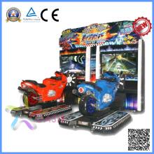 Máquina de jogo do simulador da motocicleta do LCD de 47 polegadas (alma do piloto)