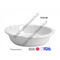 Ceramic White 9inch Pie Pan